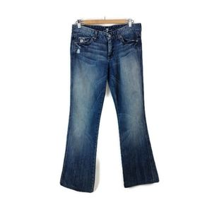 "7 FOR ALL MANKIND| ""A Pocket"" Straight Leg Jean"